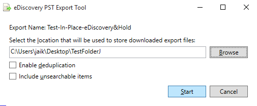 Step 7 to Export Office 365 Email to PST