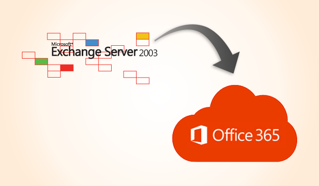 exchange 2003 to office365