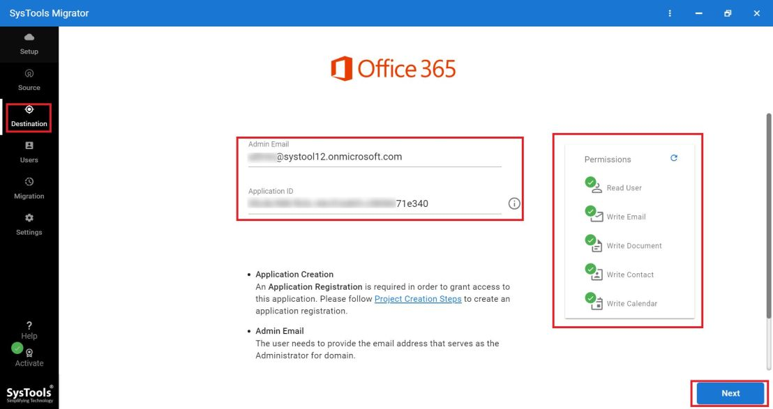 enter office 365 credentials