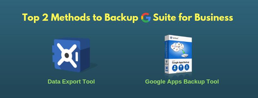 Backup Google Apps for Business