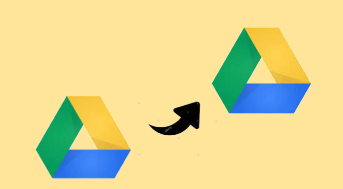 move Google Drive folder to another Drive